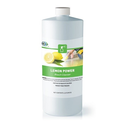Lemon Power Bleach Cleaner - 6/32 oz