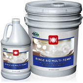 Rinse Aid Multi Temperature 4 x 1 gallon